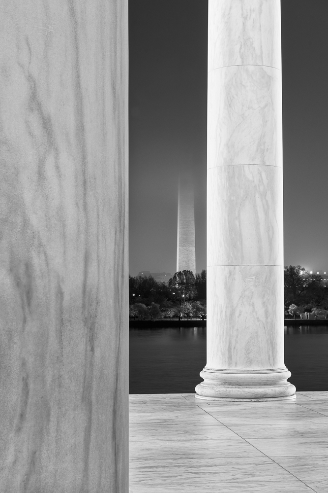 Columns and Washington