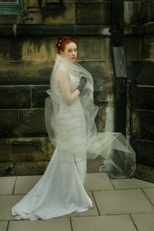 Cleveland Ohio Gothic Wedding