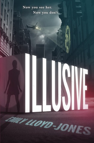 August 2015 - A copy of Illusive plus a signed bookmark