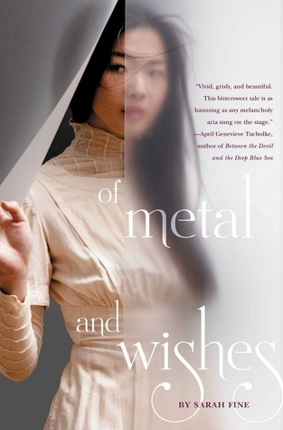 October 2015 - A copy of Of Metal & Wishes plus a signed bookplate from Sarah Fine, a special bookmark & a necklace from the author + a Bonus Book!