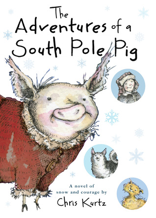 January 2016  - A copy of  The Adventures of a South Pole Pig  plus a signed bookplate!