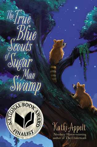 November 2015 - A copy of The True Blue Scouts of Sugar Man Swamp plus a signed bookplate and an exclusive True Blue Scouts membership card.