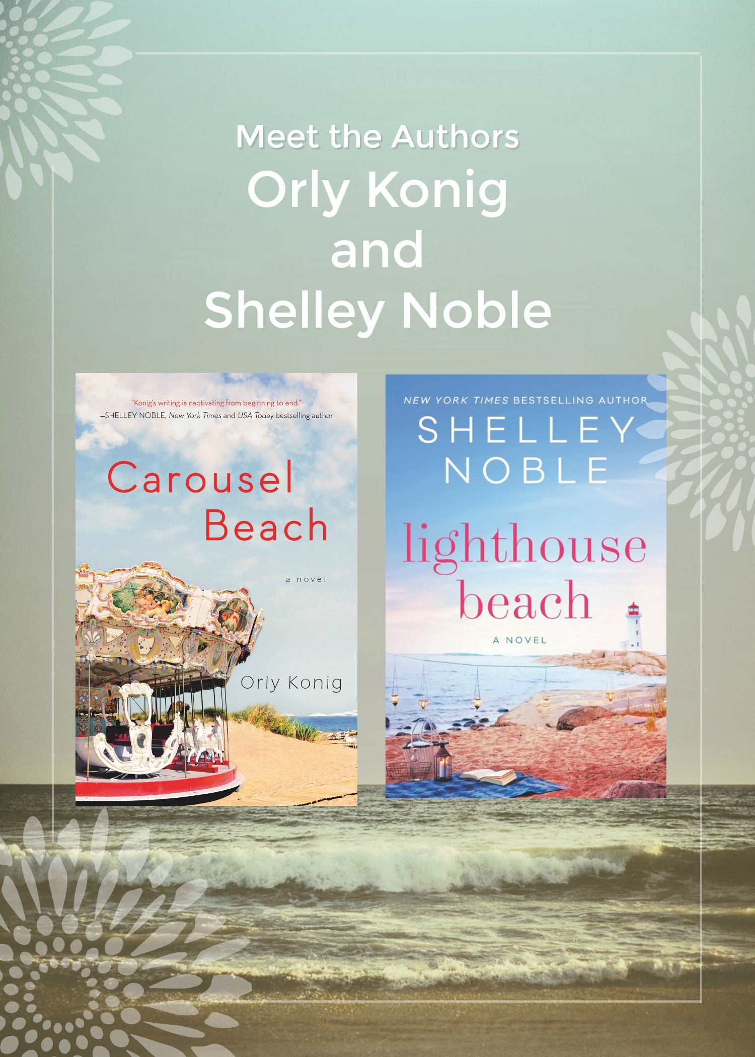 Orly Konig And Shelley Noble Bethany Beach Books