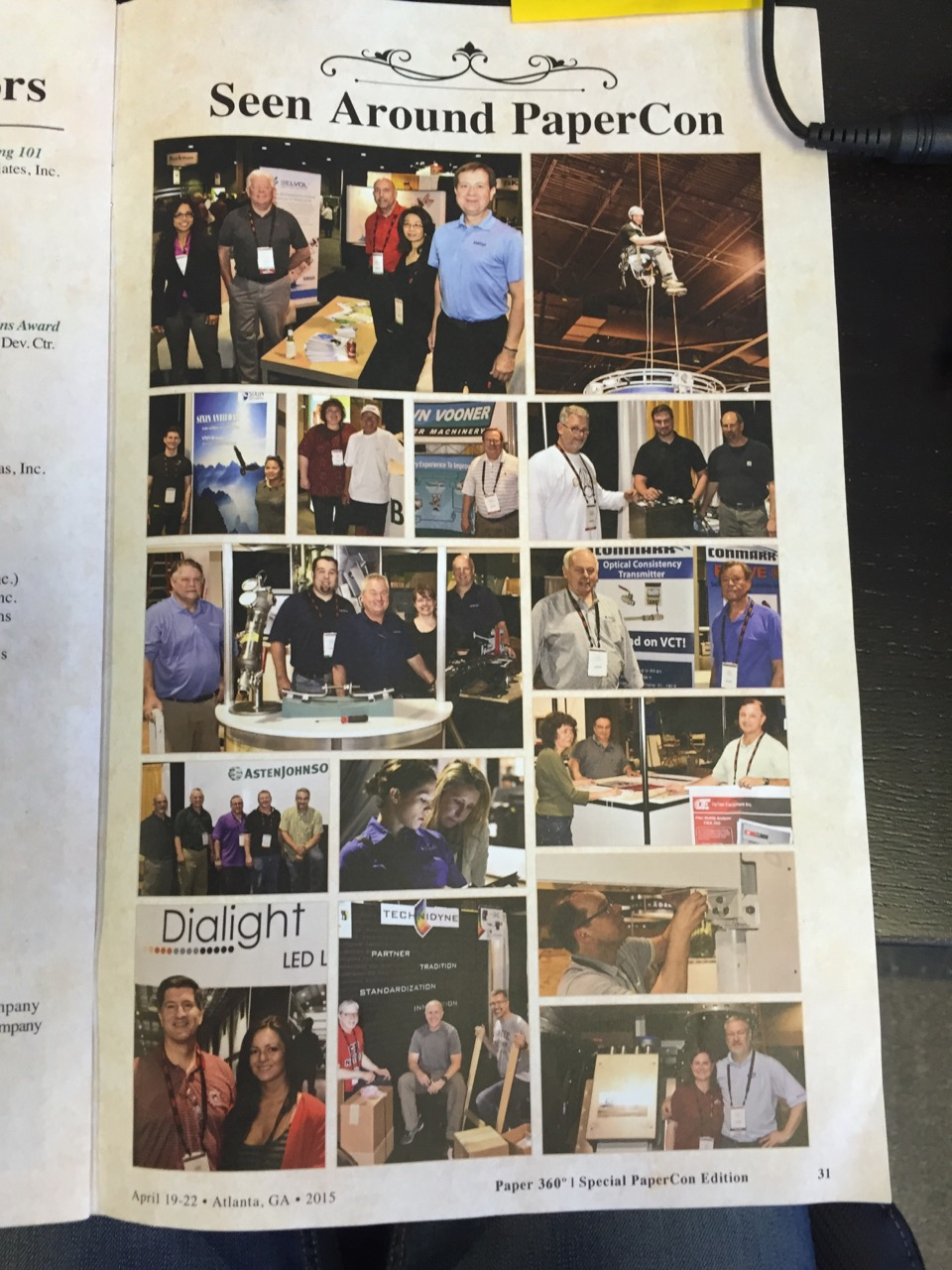 Joe and Phung featured in the TAPPI Times at PaperCon 2015