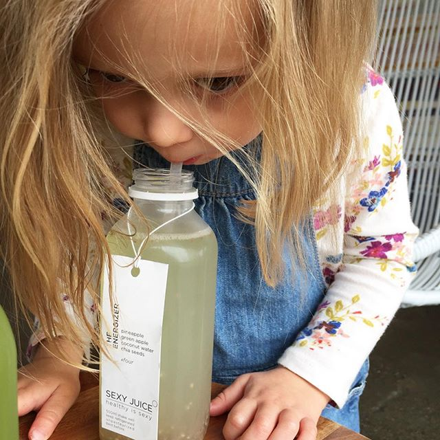 Kid approved!  Always stocked at @oliveandrubycafe. . . . #healthyissexy #drinkyourveggies #kitsilano #vancouver #yvrcafe #vancouverfitness #igersvancouver #vancouvervegans