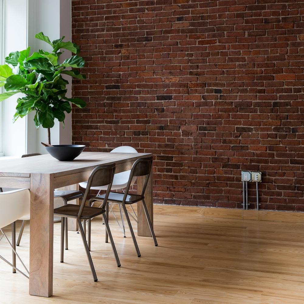 Hardwood Floor Installation Dining Room by ASA Flooring in Denver, CO