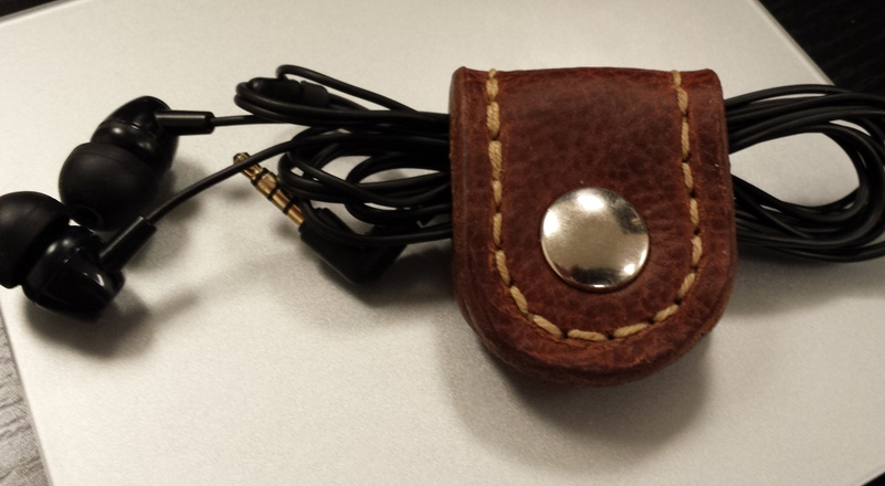 Leather Headphone Wrap
