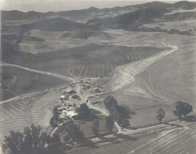 The Conejo Ranch, founded by Casper Borchard
