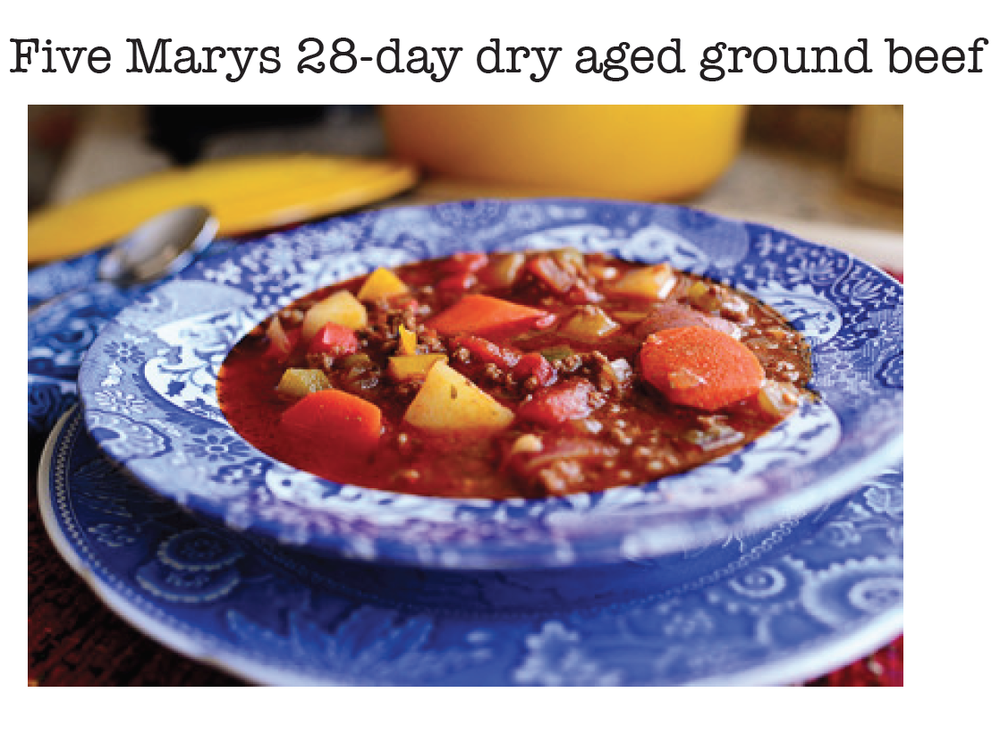 One of our favorite winter recipes and a customer favorite at Five Marys Burgerhouse!