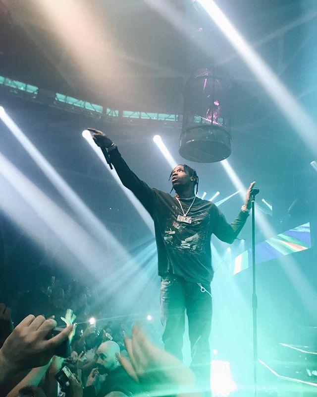 Travis Scott last night 🔥