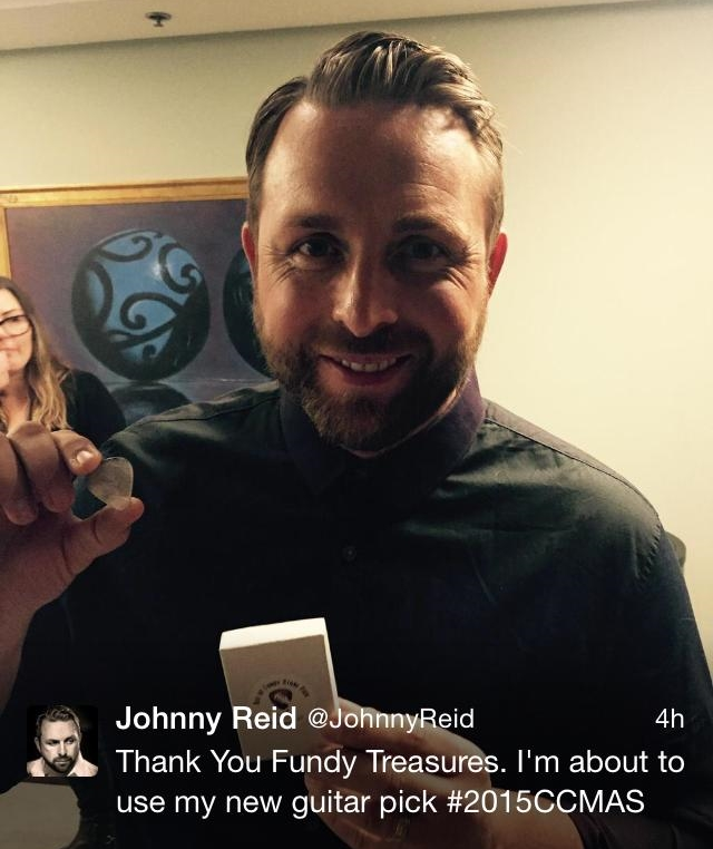 Johnny Reid won Fan's Choice Award!