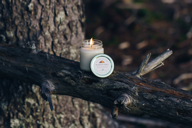 Find our 4 oz Pumpkin Spice Candle in this Fall's Nova Box!