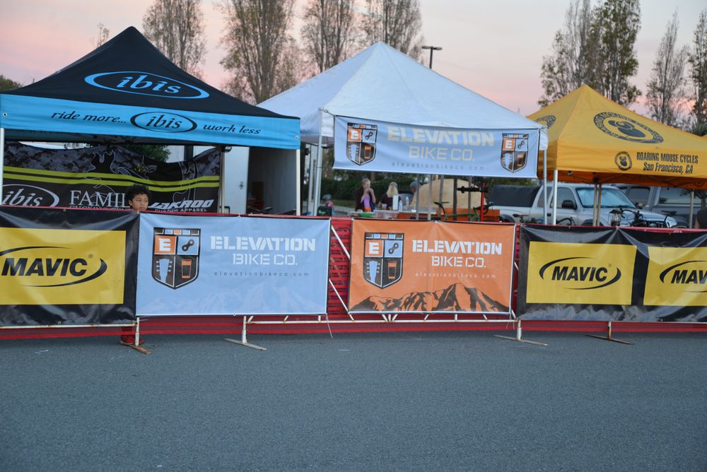 Elevation Bike Co. Tent