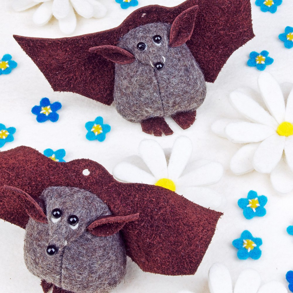 Benny the Bat greeting card.