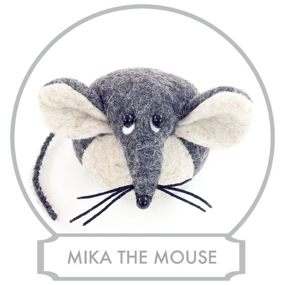 Mika the Mouse's  Father is half Finnish which makes Mika a quarter Scandinavian which he is very proud of. Every now and then he goes to visit his family in Finland and he would always bring back the best chocolate in the world (better than Belgium chocolate, he always says), salty liquorice that makes your eyes water when you eat it and lots and lots of cheese.  READ MORE >