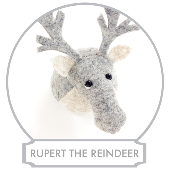Rupert the Reindeer  originally comes from tundra high up north from Bilberry Woods, but his joints are suffering from cold and therefore he has moved permanently to Bilberry Woods. He still visits tundra regularly, but mainly in the summer months.  READ MORE >