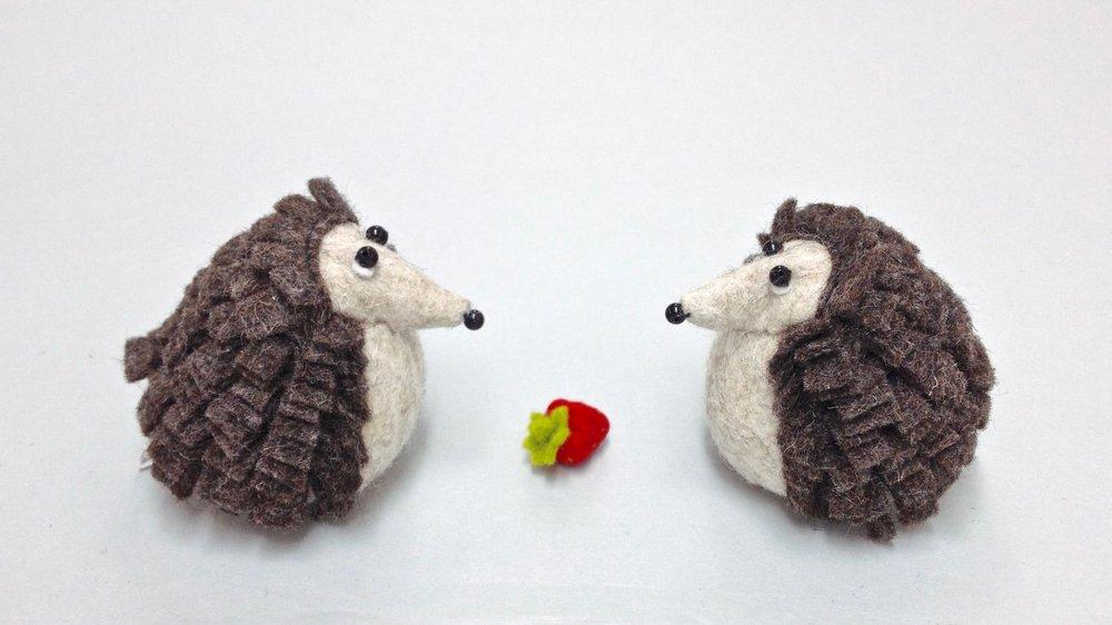 Bilberry Woods story book animal figurines by Laura Mirjami | Mirjami Design