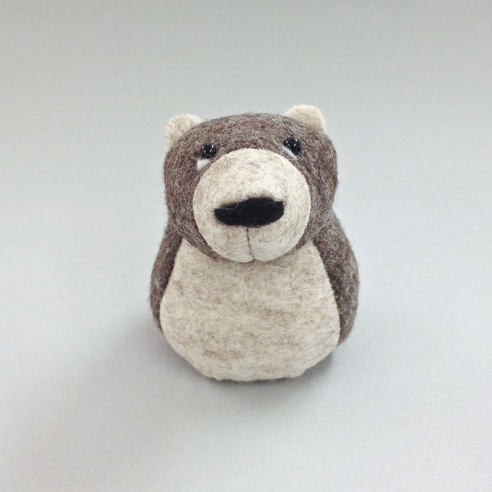 Bilberry Woods Character Ernest The Brown Bear
