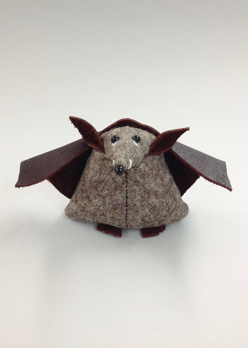 Bilberry Woods Character Benny The Bat by Laura Mirjami