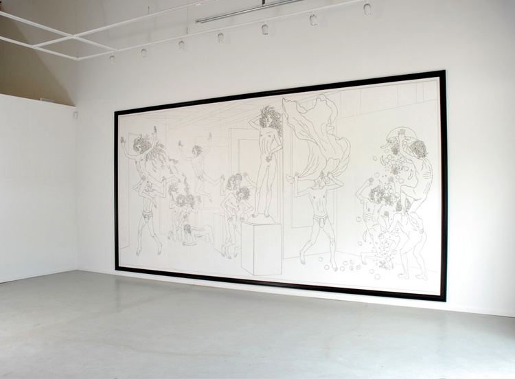 The Eternally Obvious (mural) (2007)