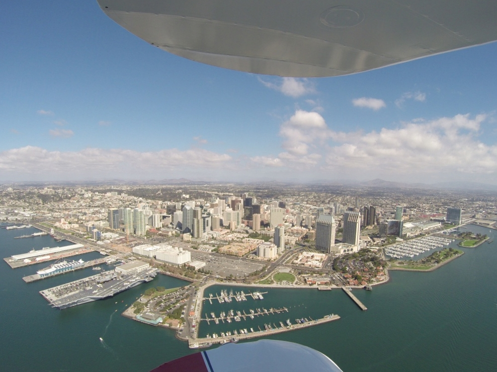 San Diego Tourist Spots from the air!  Bucket List and Thrill Rides available too.