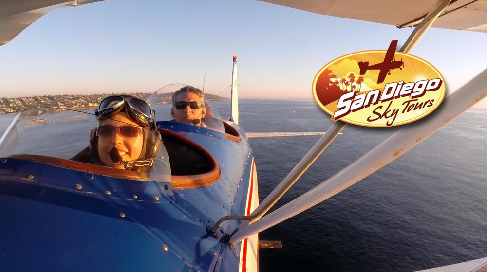 Biplane Rides available (single passenger only for $160)