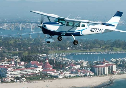 Take up to 5 passengers on an exclusive aerial tour of San Diego.  Our Valentines Day special includes drive up to the plane service, champagne and the perfect experience.  We recommend booking a private aerial tour.