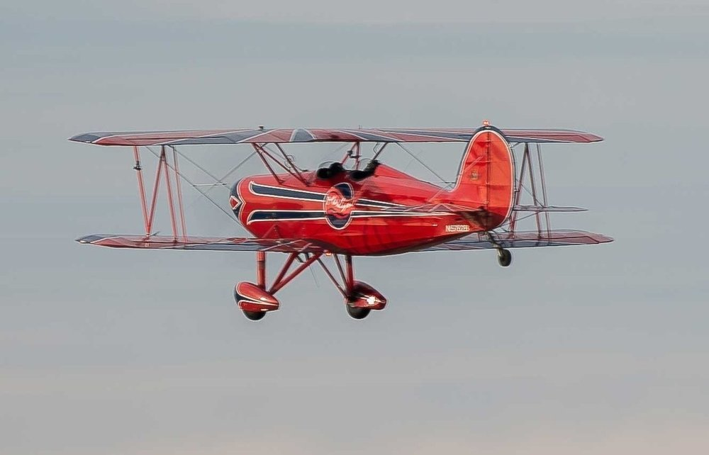 Single Passenger Biplane Adventure