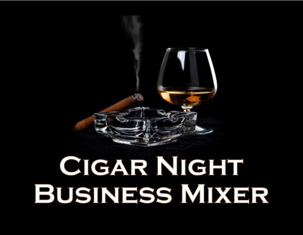 Cigar Night Business Mixer