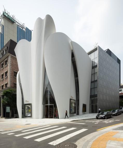 Seoul Dior Store by Christian de Portzamparq