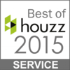 Best of HOUZZ 2015 - service award