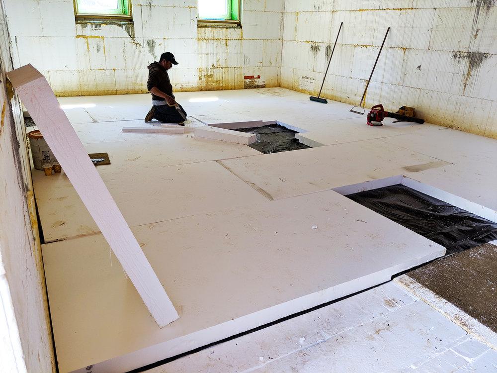 4.24.19 Westchester Passive House Basement insulation.jpg