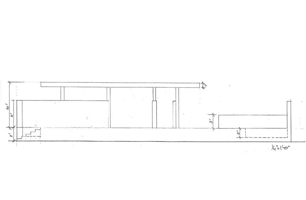 Elevation Plan Measurements : Barcelona pavilion measurements images reverse search