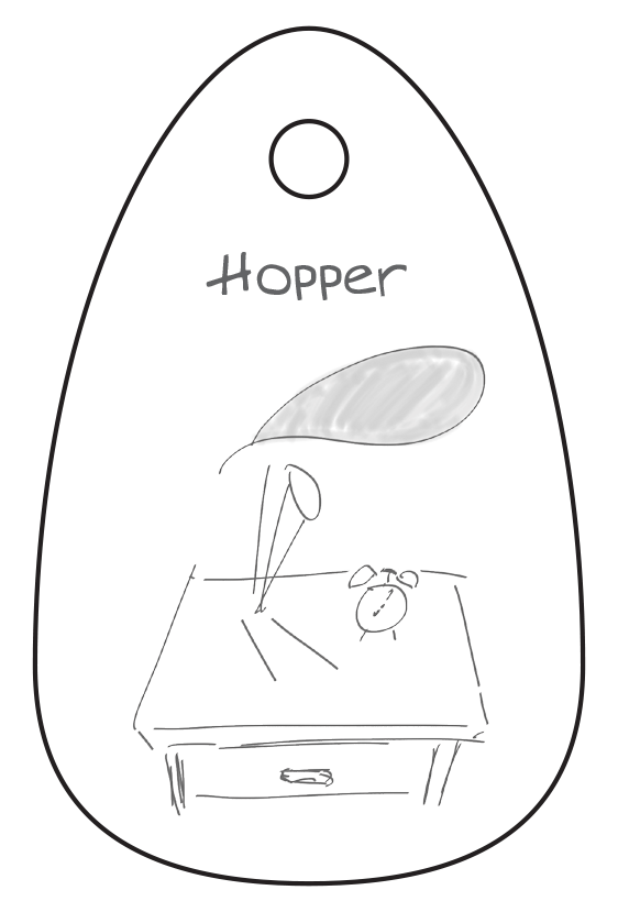 Hopper Retail Tag
