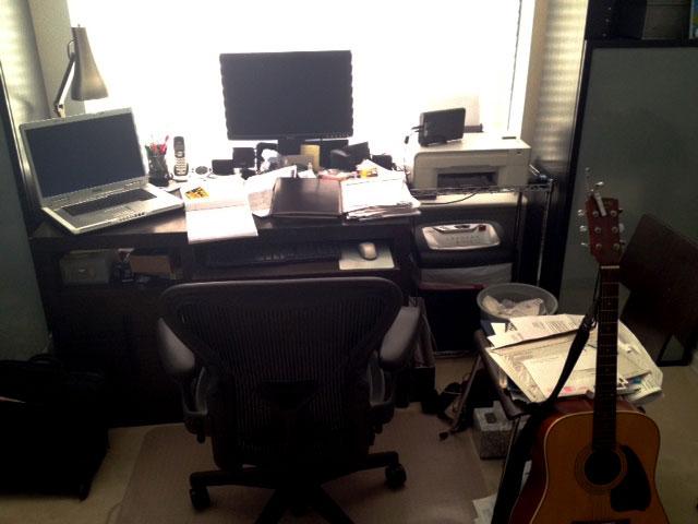 Cory's Desk