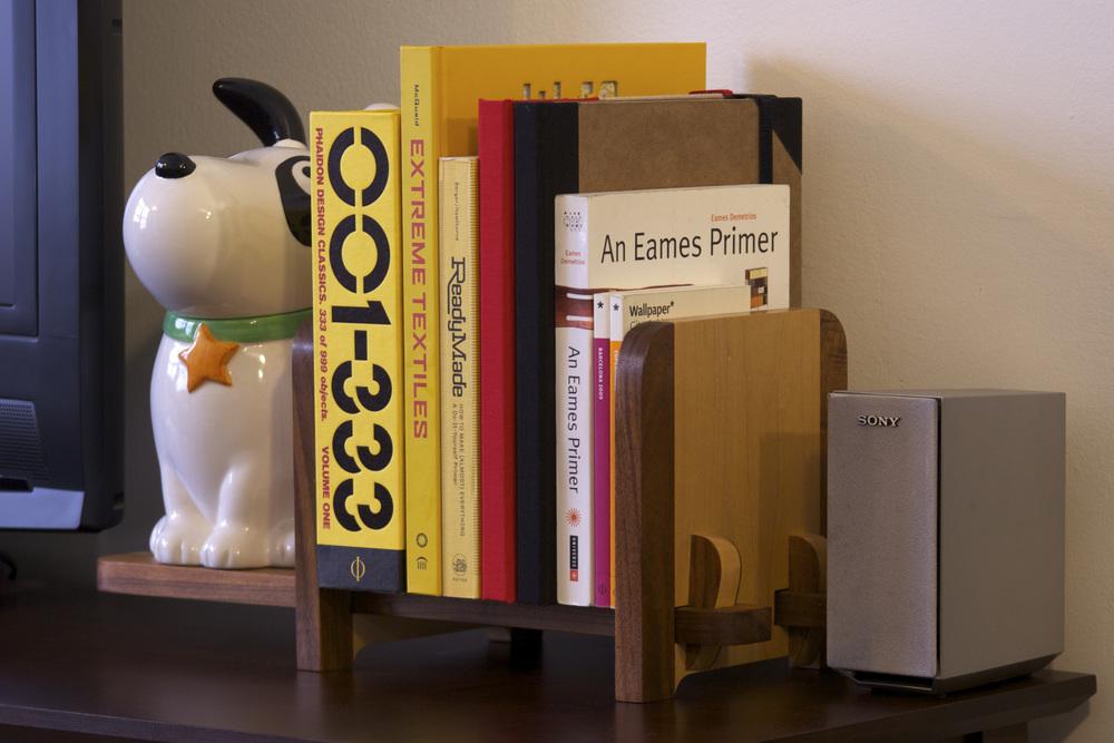Old Book Case - Pohutukawa Edition - On a Shelf