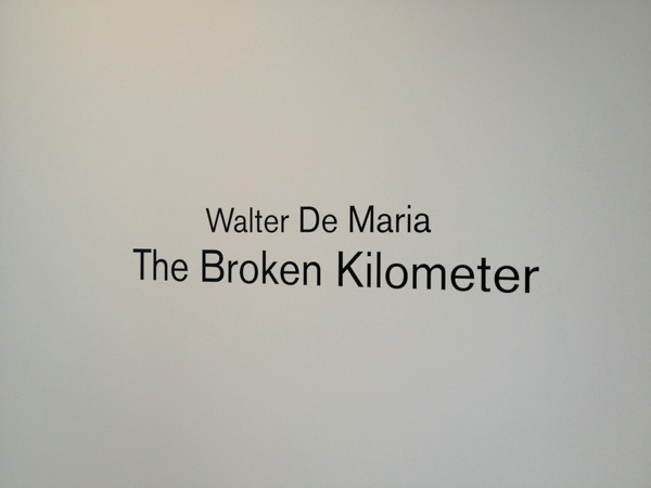 Title: Water De Maria - The Broken Kilometer