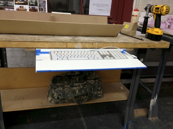 Keyboard Tray Out