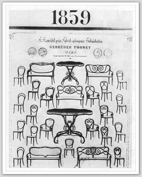 Thonet Catalog 1859