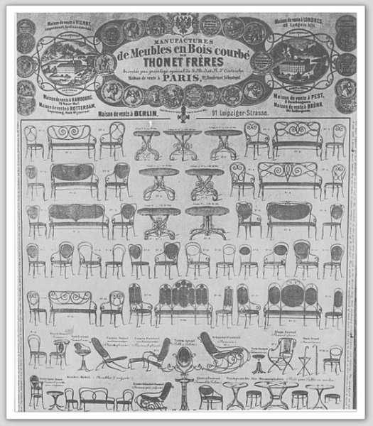 Thonet Catalog 1867