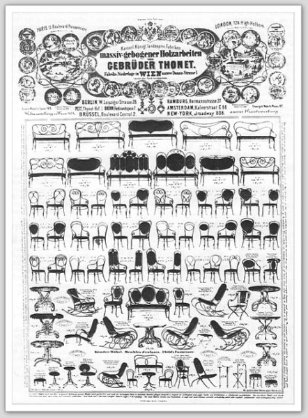 Thonet Catalog 1873