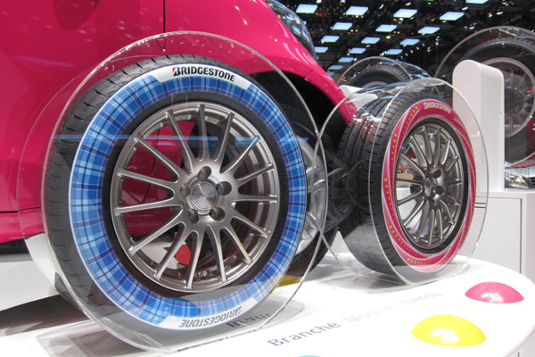 Bridgestone Printed Tires