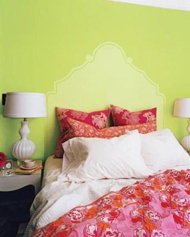 Painted Bedboard