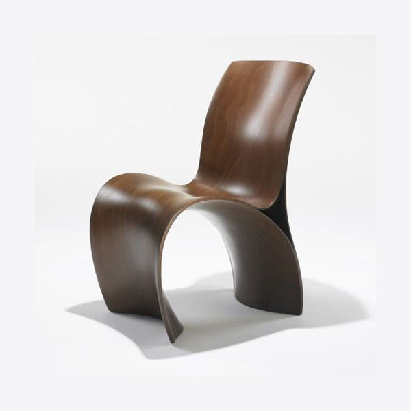 Ron Arad's Three Skin Chair, using Reholz's 3D Veneer