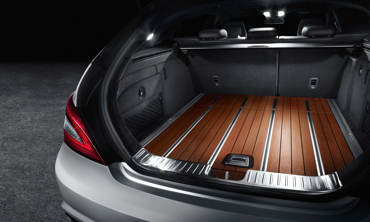Cherry Trunk In The 2012 Mercedes Cls Shooting Brake