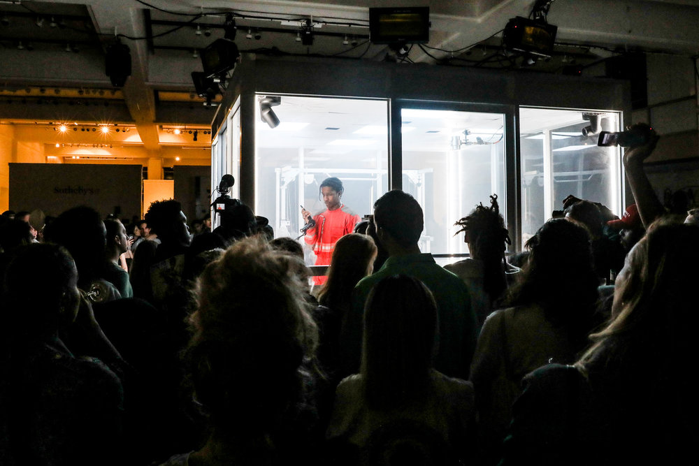 A$AP Rocky Event [photo: The New York Times]