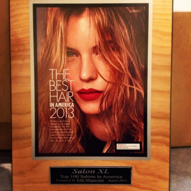 Top 100 Salon in the USA, 3 years in a row in #ElleMagazine #hair #annarbor #style