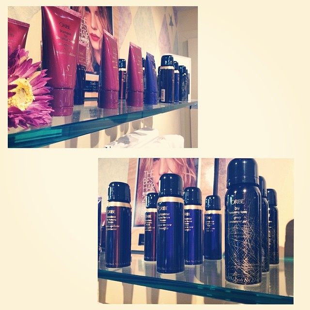 We just got in some great travel sizes of the incredible #oribe products! Perfect size for carry on bags, and purses 👌