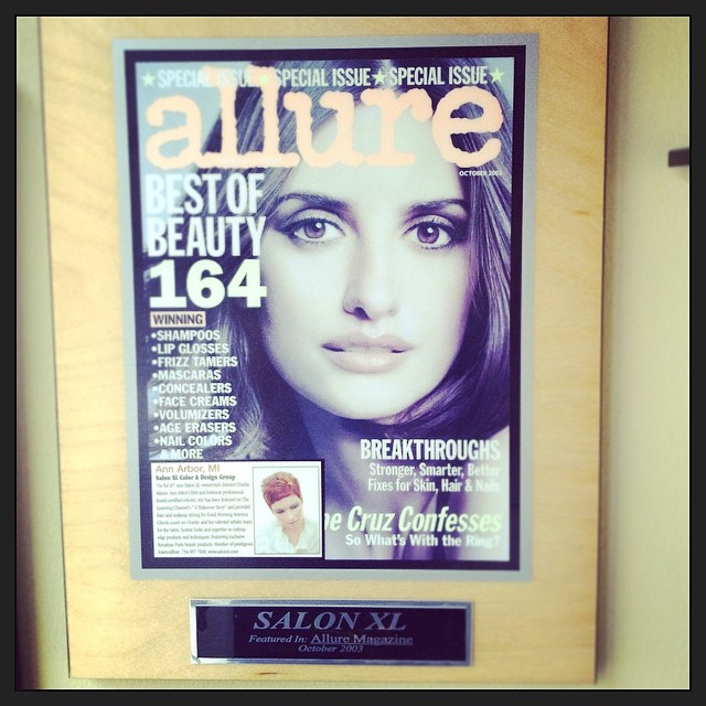 We have been featured in a handful of magazines including #allure #elle and #bazaar 💅💄✂️Come in and see what the hype is all about! #annarbor