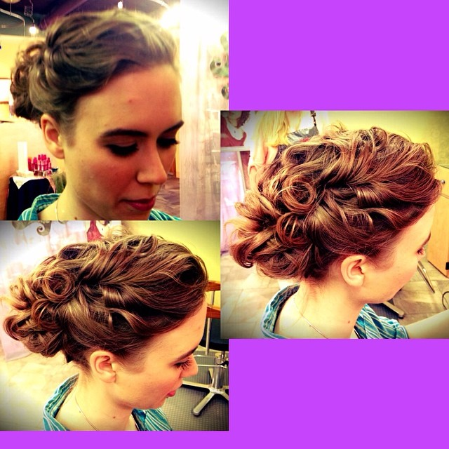 #bridal #updo @thesooz_q #hair #annarbor #weddinghair